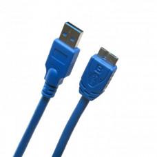 Кабель Extradigital USB 3.0 AM / micro USB B, 0.5m, 28 AWG, Super Speed